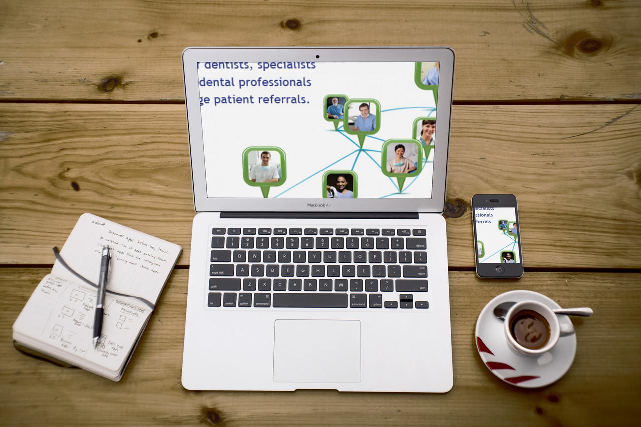 Dental Professional Networking & Social Media Web Application