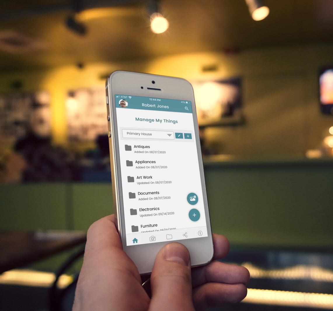 Custom App Development: Manage My Things App